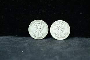 1940 1941 Walking Liberty Half Dollar