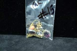 120 12K GF earrings pendant and chain