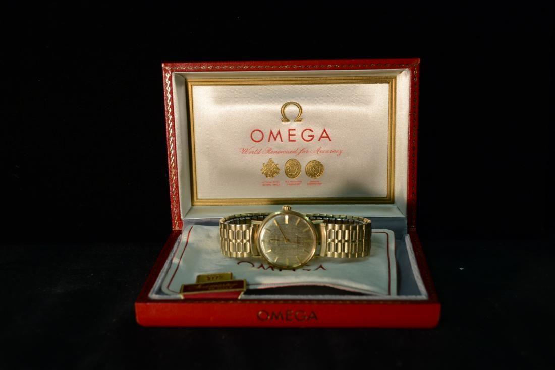 Omega Seamaster DeVille 14K Gold