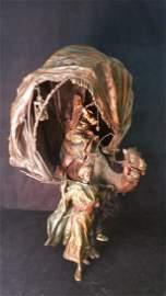 Franz Bergman Bronze, Cold Painted