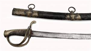 A Spanish Cavalry Sabre, after French model AN IX