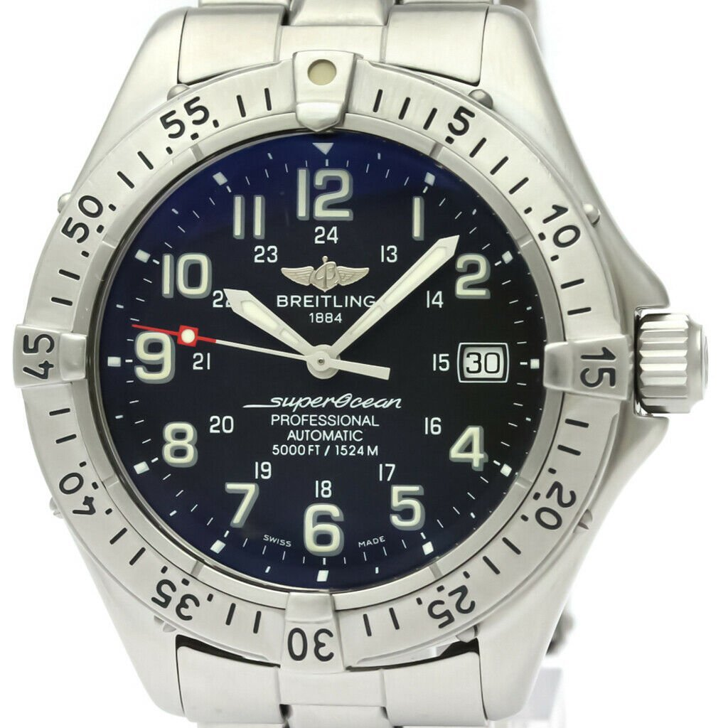 BREITLING Colt Super Ocean Steel Automatic Mens Watch