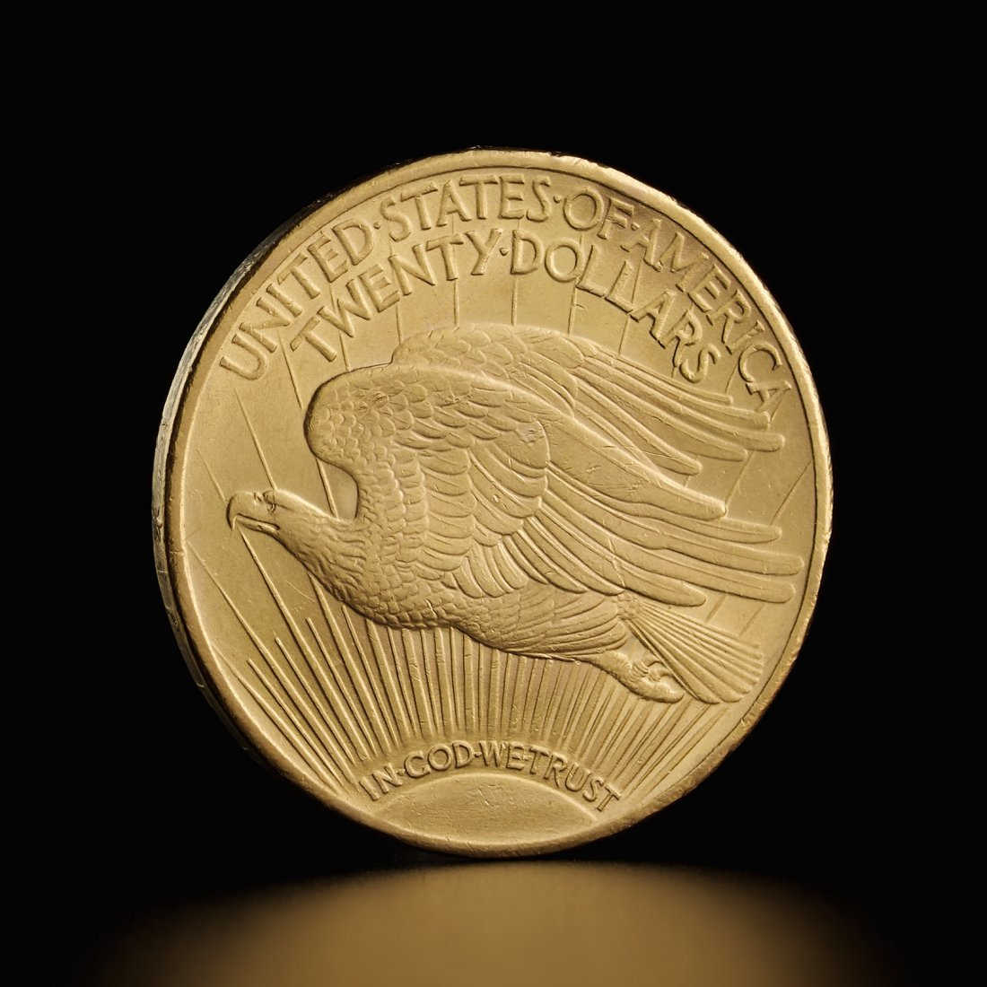 American Saint Gaudens Double Eagle gold coin