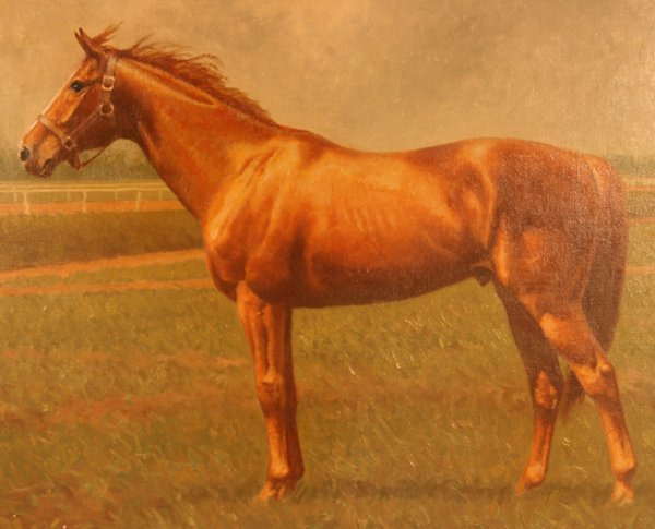 80: C.W. Anderson Horse Oil Painting - 3