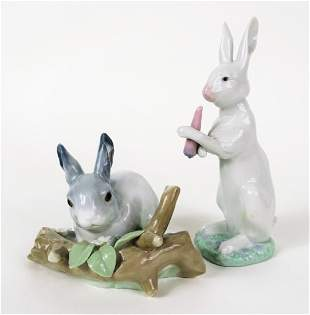 LLADRO RABBIT EATING 4773 SNACK TIME 5889