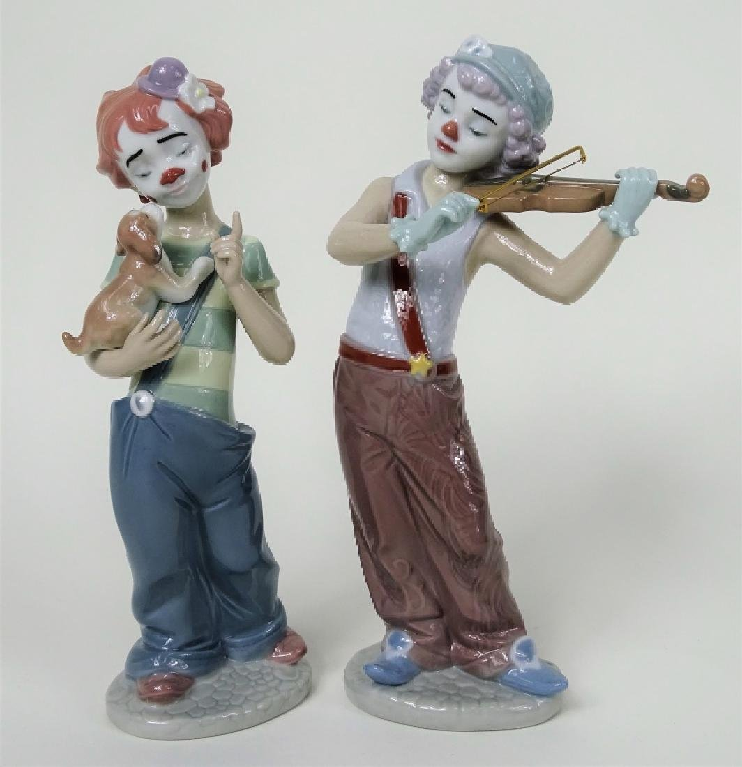 """(2) LLADRO """"BOHEMIAN MELODIES"""" & """"STAGE PARTNERS"""""""