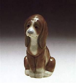 LLADRO GOOD DOG 1289 GENTLE SURPRISE 6210