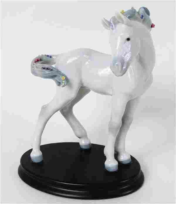 LLADRO RARE UNRELEASED WHITE HORSE