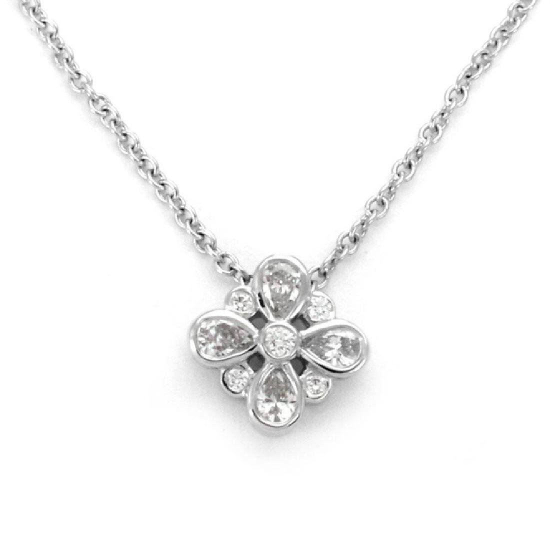 Tiffany&Co. Enchant Diamond Platinum Necklace