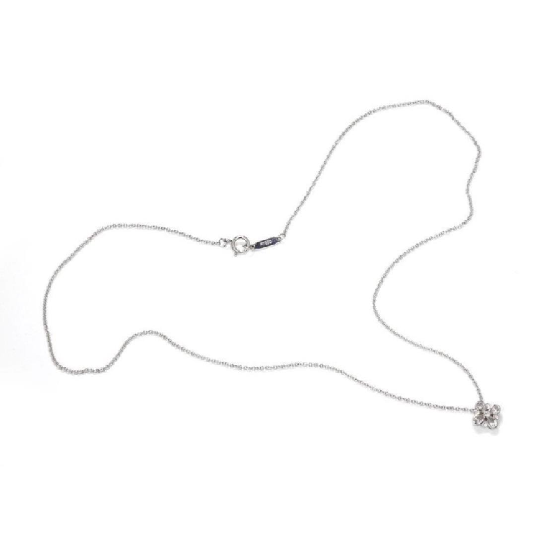 Tiffany&Co. Enchant Diamond Platinum Necklace - 2