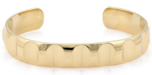 bafd1626639d9 Tiffany & Co. Picasso 18k Gold Wide Cuff Bracelet - Feb 18, 2019 ...
