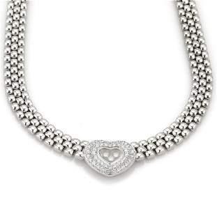 Chopard Happy Diamonds 18k Gold Heart Pendant