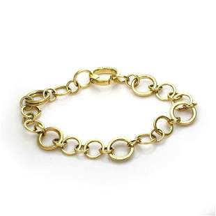 Tiffany Co Vintage 18k Yellow Gold Bracelet