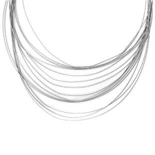 Marco Bicego 18k Gold Fine Wire Strand Necklace