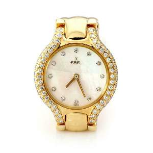 Ebel Beluga Diamond MOP 18k Wrist Watch Quartz