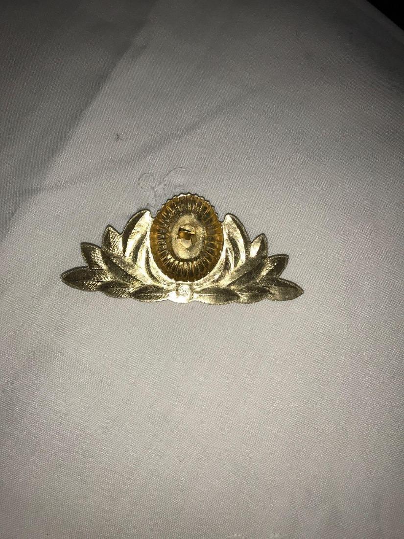 8 Soviet hat emblems - 2
