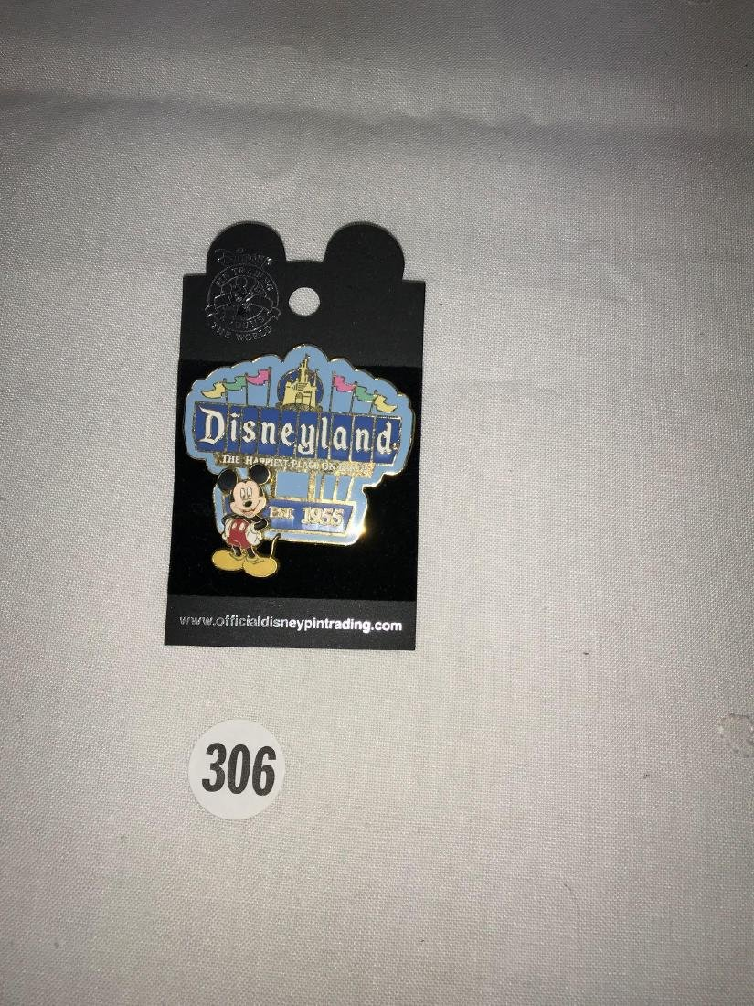 1955 Disneyland Mickey Mouse pin