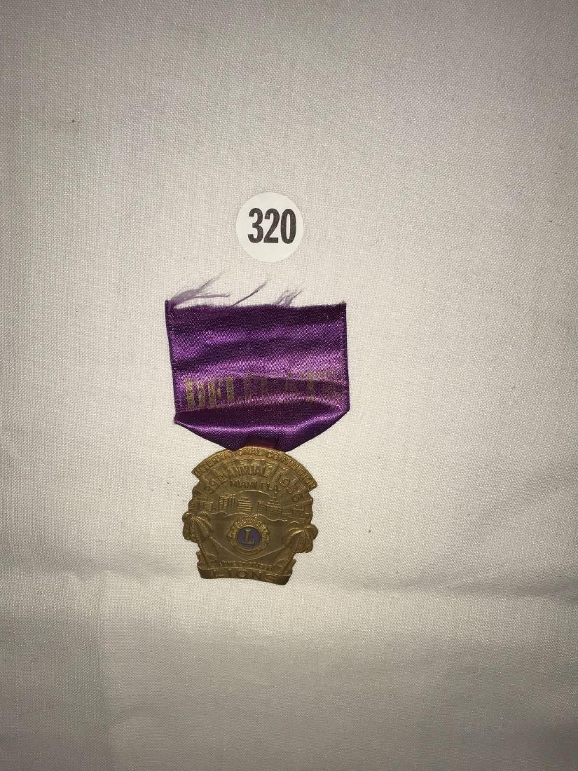 1956 Lions Club Delegate pin