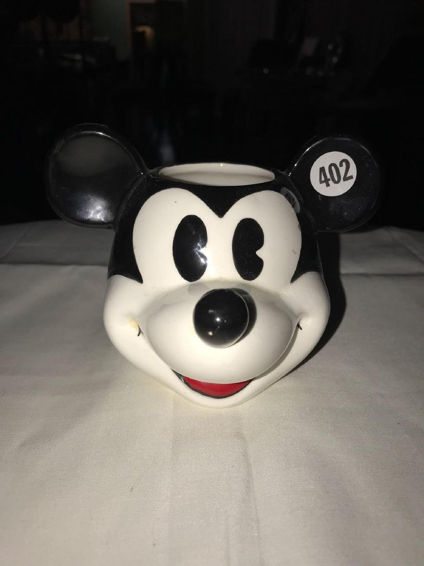 Mickey Mouse hand painted ceramic tumbler
