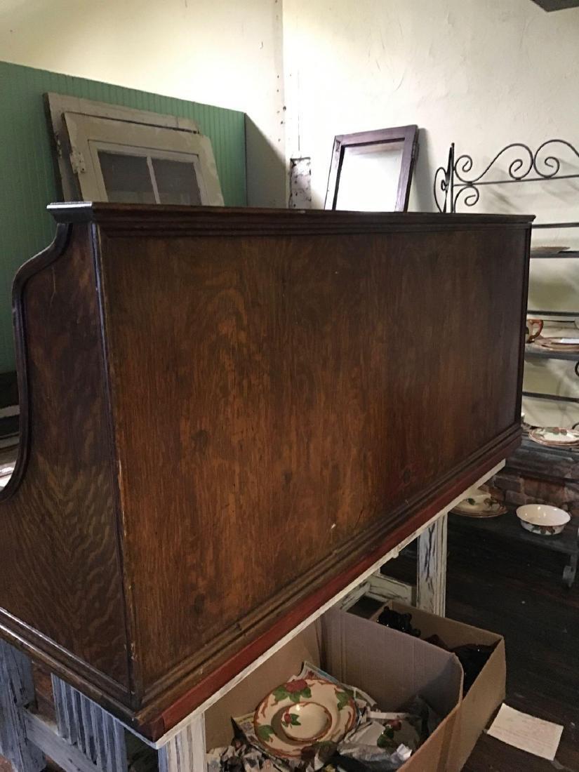 McCaskey, Oak, 1910, triple work station cash register. - 6