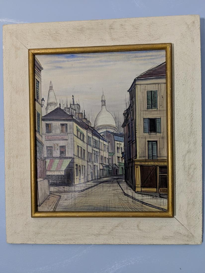 Ray Lambert Paris France Street Scene Oil Painting