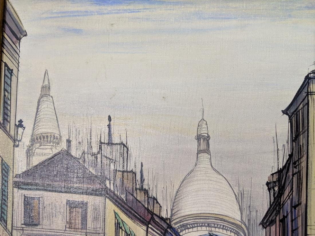 Ray Lambert Paris France Street Scene Oil Painting - 2