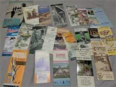 Lot Canada Travel Magazines Brochures  Quetico Muskoka