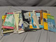 Large Lot c1950 Midwest USA Travel Brochures Maps etc