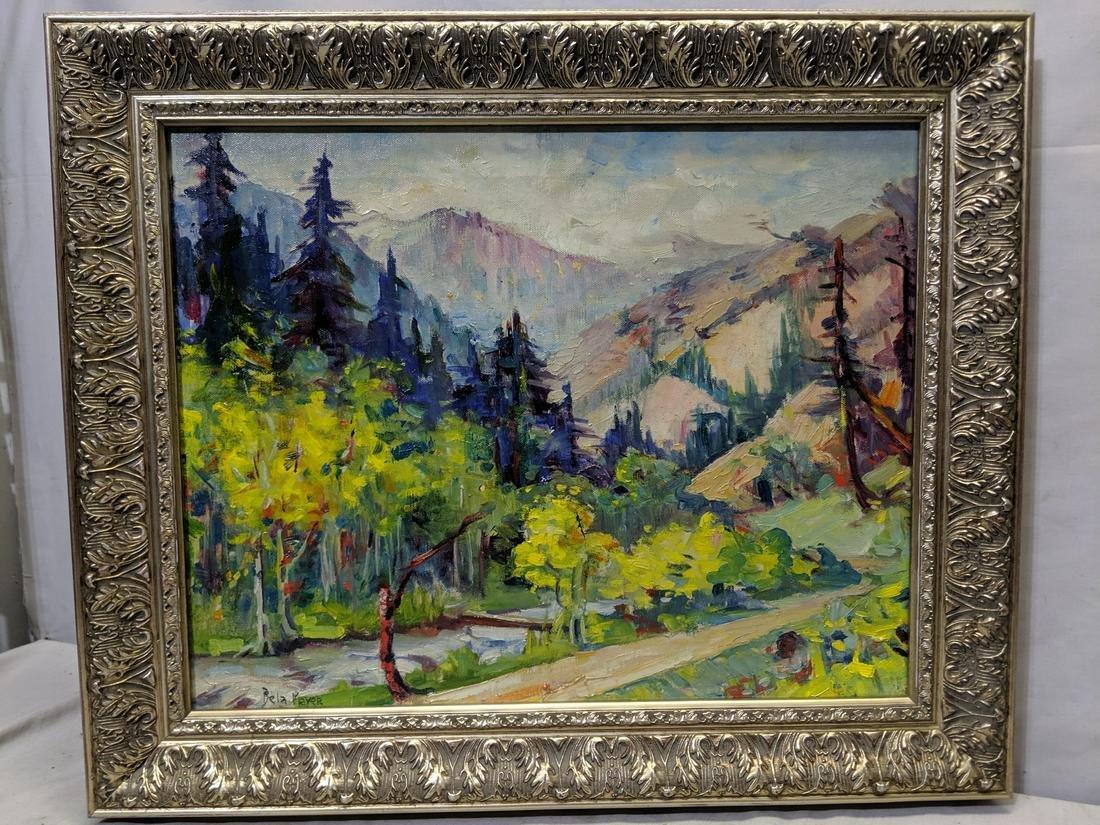 Peter Bela Mayer Landscape Oil Painting