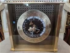 Vintage Seiko World Globe Quartz Clock
