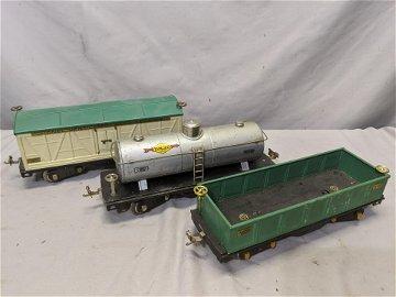 c1930 Lot 3 Lionel Standard Gauge Freight Cars 512 515