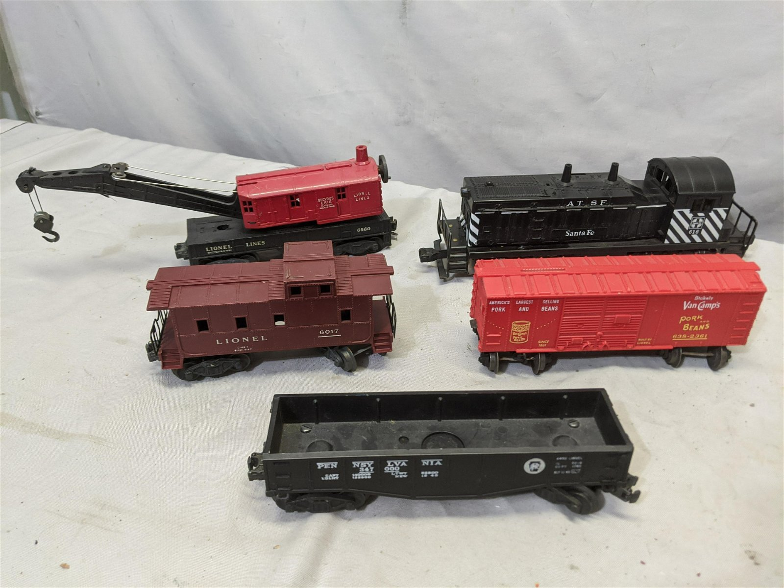 1950-60's Lionel Freight Train Set w/ 616 Engine
