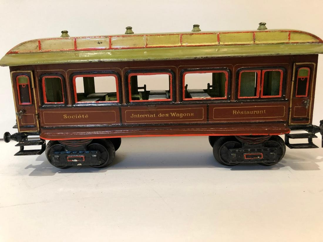 c1910 Marklin Restaurant Train 1 Gauge Dining Car