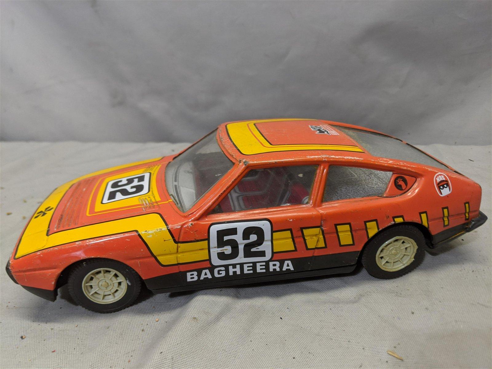1970's Tin Litho Matra-Simca Bagheera 54 Toy Car