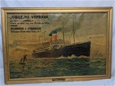 1920s United States Lines George Washington Steamship