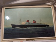 SS Hanseatic Hamburg-Atlantic Line Ocean Liner Ship
