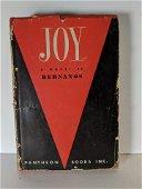 1946 First Edition Joy A Novel by Bernanos Pantheon