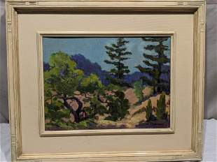 Robert Westphal Saugatuck MI Sand Dunes Painting