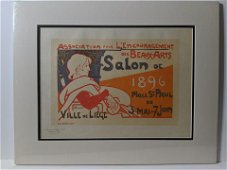 Émile Berchmans Salon de 1896 PL 108