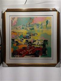 LeRoy Neiman Grand Prix Caesar's Palace LTD ED Print