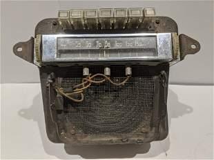 1940 Cadillac Radio