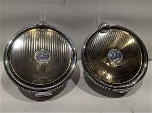 Pair Trippe Safety Light Speedlight Auto Car Headlights