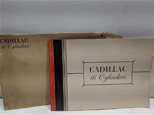 1931 Cadillac 16 Cylinders Dealers Sales Brochure