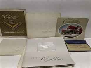 Lot 6 1950-80's Cadillac Brochures & Manuals