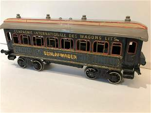 c1910 Bing Schlafwagen 1 Gauge Train Coach Car
