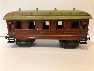 c1910 Marklin Wagons Lits 1 Gauge Train Coach Car