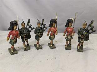 Lot 6 Lineol Germany Composition Highlander Soldier Fig