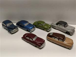 Lot 6 1950's Sedan Scale Models National Products etc