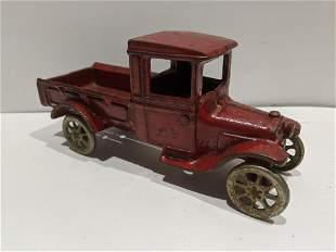 Antique Arcade Cast Iron Pick Up Truck