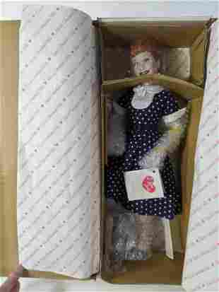 Hamilton Collection I love Lucy Lucille Ball Doll